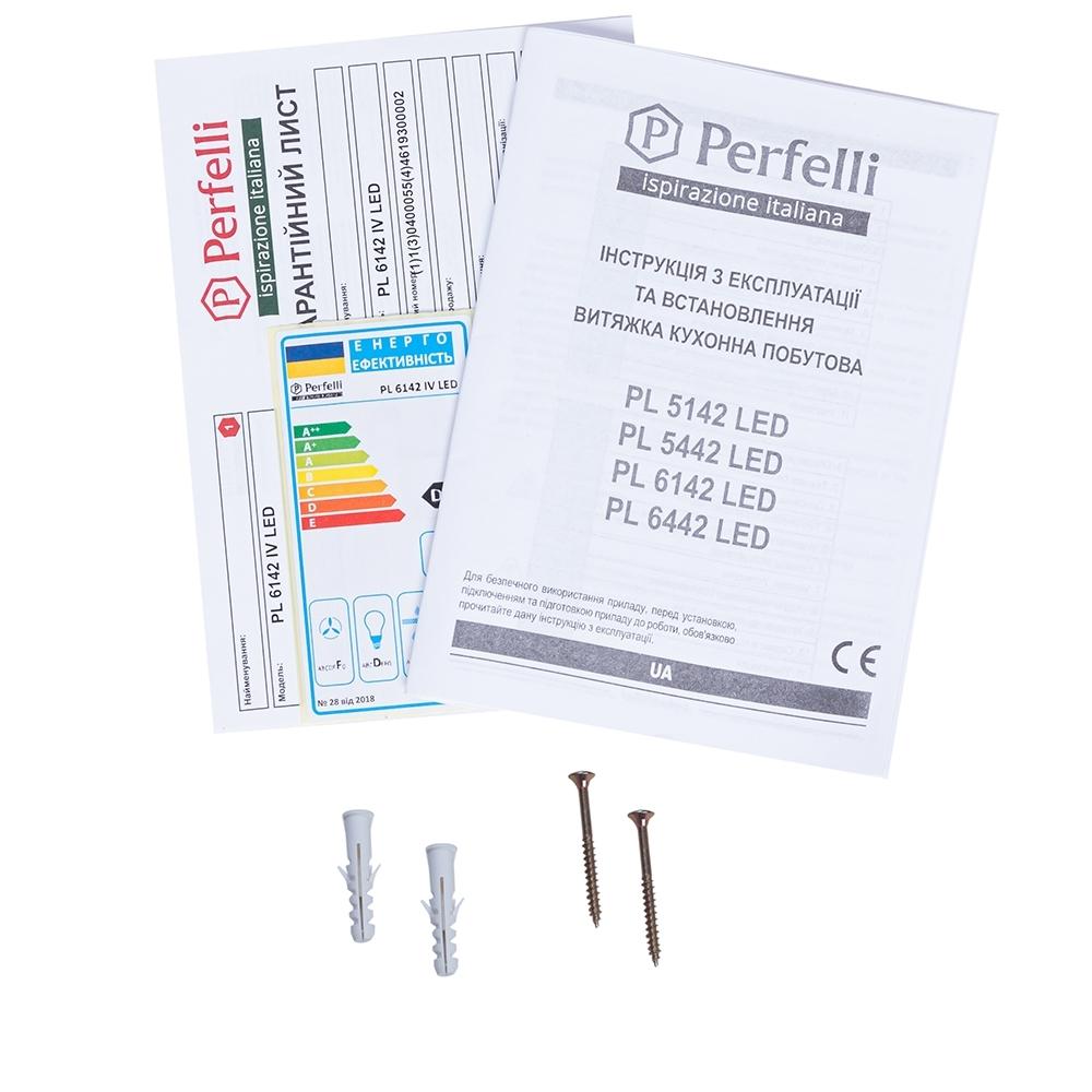 Вытяжка плоская Perfelli PL 6142 IV LED