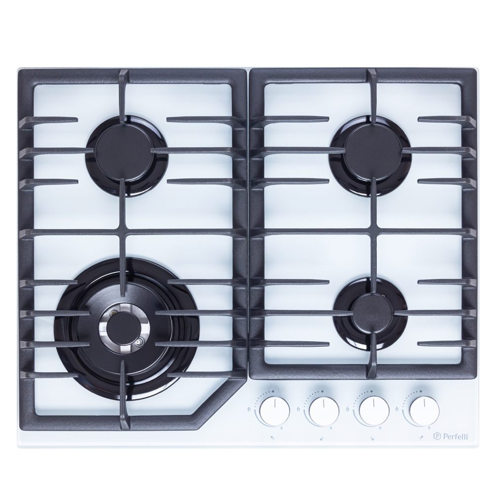 Gas Surface On a glass Perfelli HGG 61694 WH