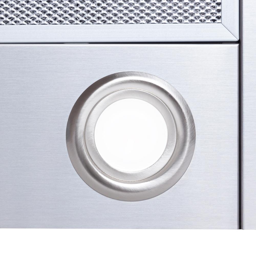Hood decorative T-shaped Perfelli TS 6822 I/BL LED