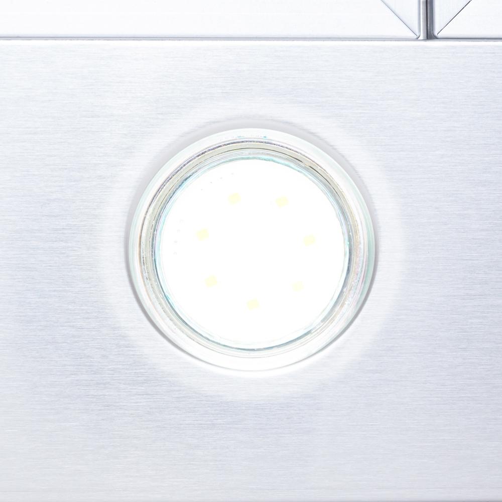 Hood decorative T-shaped Perfelli TS 9322 I/BL LED
