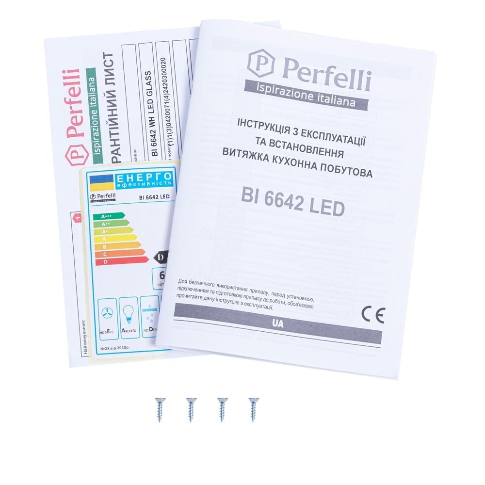 Fully built-in Hood Perfelli BI 6642 WH LED